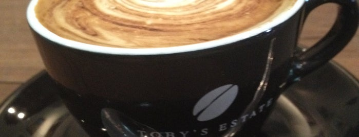 Toby's Estate is one of Best Cafes in Brisbane.