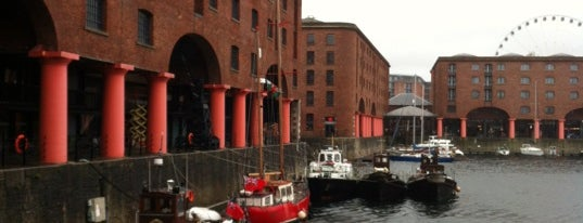Albert Dock is one of Liverpool.