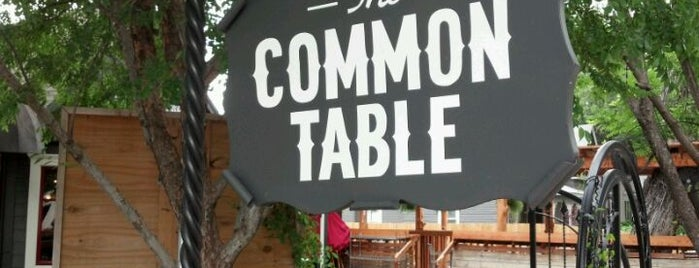 The Common Table is one of Must-Try Dallas Grub.