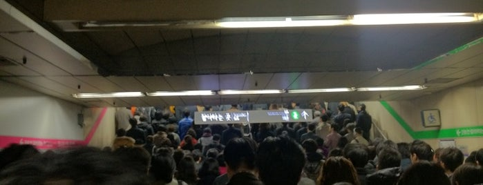 Jamsil Stn. is one of 10,000+ check-in venues in S.Korea.