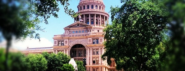 Texas State Capitol is one of Great Spots for Cyclists in Austin.
