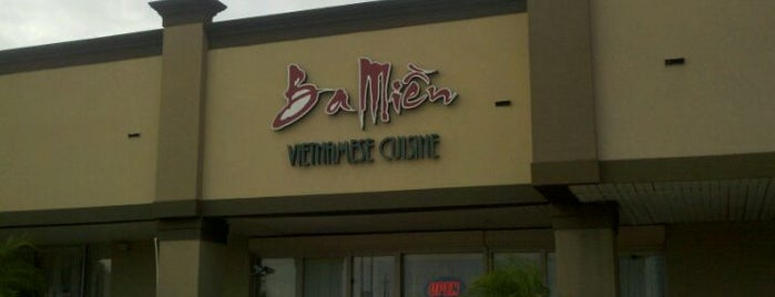 Ba Mien Family Restaurant is one of New Orleans Eater 38.