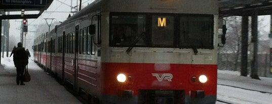 VR M-juna / M Train is one of Public transportation.