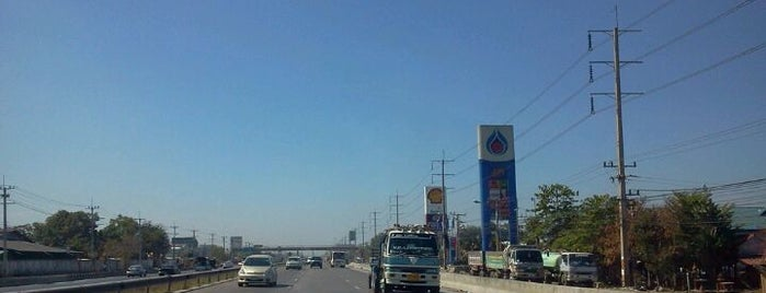 แยกวงแหวนบางปะอิน (Bang Pa-in - Outer Ring Junction) is one of Bkk - Lopburi Way.