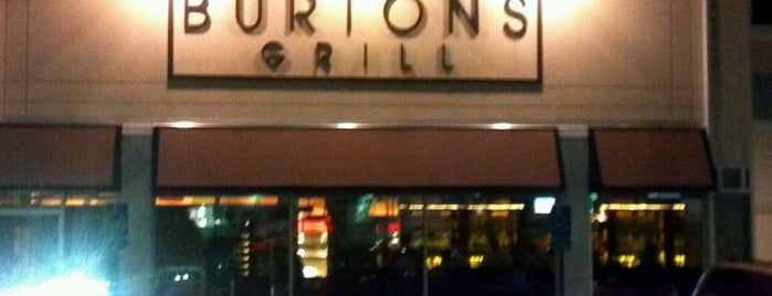Burtons Grill is one of Andover Area Restaurants.