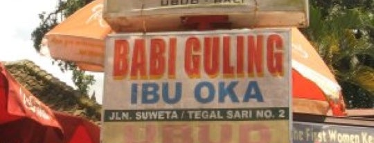 Babi Guling Ibu Oka is one of All-time favorites in Indonesia.