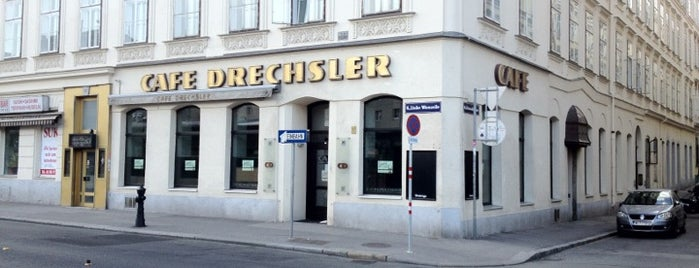 Café Drechsler is one of Vienna.