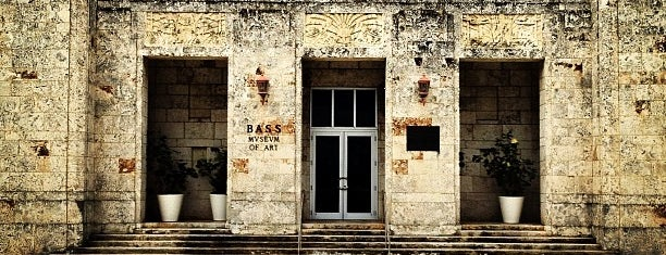 Bass Museum of Art is one of Galleries + Museums.