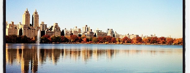 Central Park – The Lake is one of Sophie's Favorite Holiday Spots in NYC.