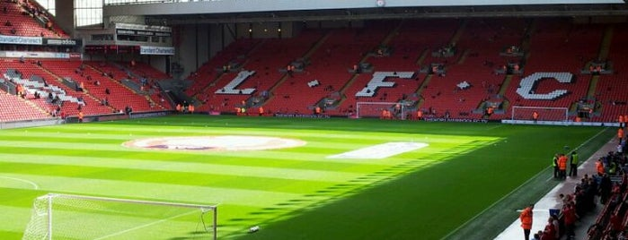Anfield is one of All-time favorites in United Kingdom.