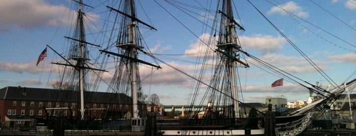 USS Constitution is one of Boston City Badge - Beantown.