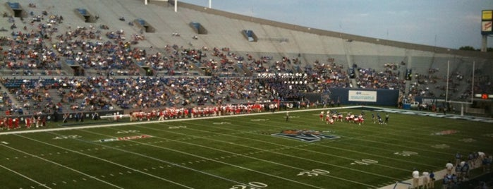 Liberty Bowl Memorial Stadium is one of Conference USA Football Stadiums.