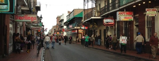 Bourbon Street is one of New Orleans City Badge - The Big Easy.