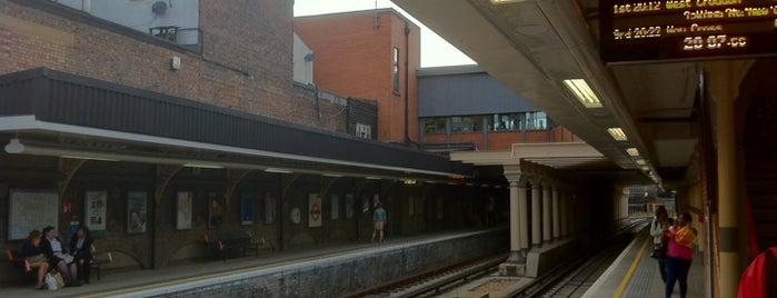Surrey Quays London Overground Station is one of Railway Stations in UK.