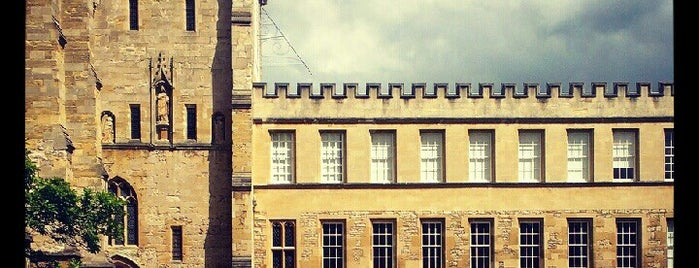 New College is one of Harry Potter & The Mayor Of Diagon Alley.