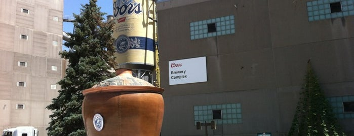 Coors Brewing Company is one of Flying High in Colorado.