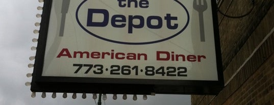 "Depot Diner is one of ""Diners, Drive-Ins & Dives"" (Part 1, AL - KS)."