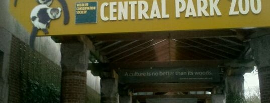 "Central Park Zoo is one of ""Be Robin Hood #121212 Concert"" @ New York!."