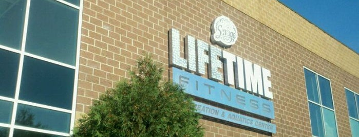 Life Time Fitness is one of Steph's Frequent Hangs.