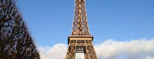 Eiffelturm is one of Paris, FR.