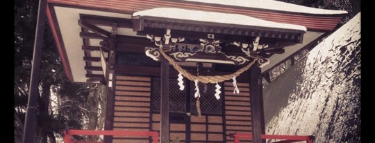 繋温泉神社 is one of Shinto shrine in Morioka.