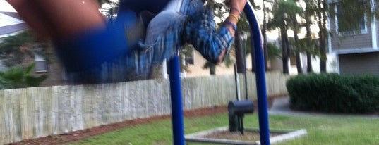 The Play Area is one of Places in the Lowcountry to take my nephew.