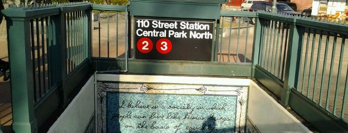 MTA Subway - 110th St/Central Park North (2/3) is one of MTA Subway - 2 Line.