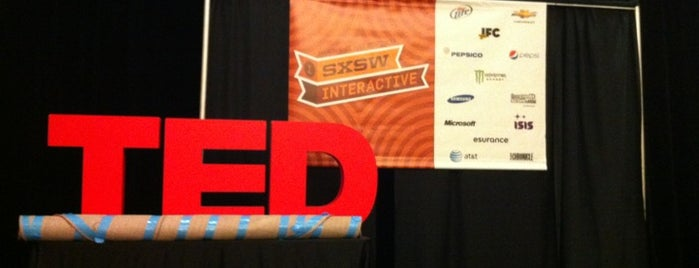 The Driskill- TED@SXSW Presented by HTC is one of Speakmans SXSW Venues in Austin.