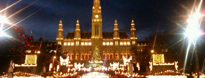 Rathausplatz is one of Exploring Vienna (Wien).