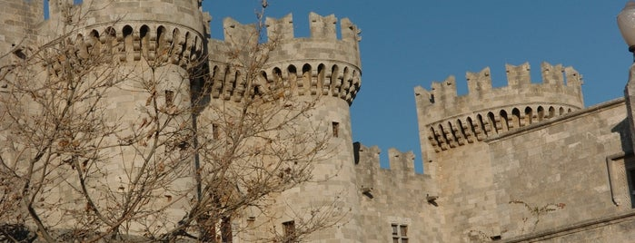 Rhodes Old Town is one of Tower towns in Greece.