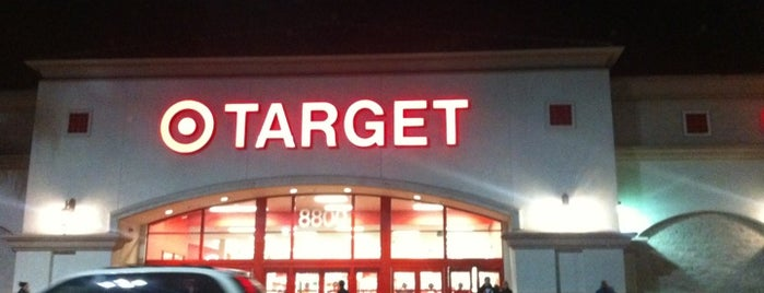 Target is one of Places to go.