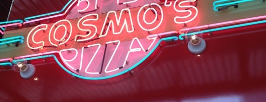 Cosmo's Pizza is one of <3.