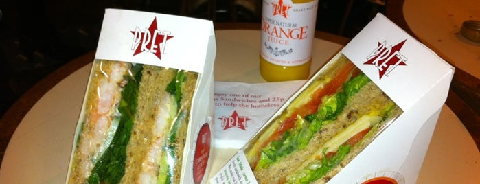 Pret A Manger is one of My United Kingdom Trip'09.