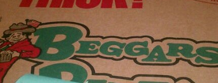 Beggars Pizza is one of favorites.