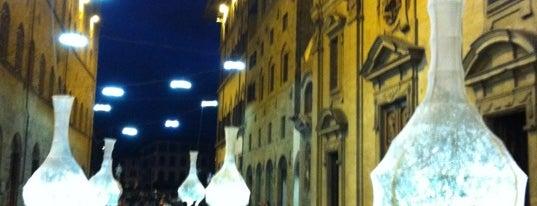 Via Tornabuoni is one of Firenze (Florence).