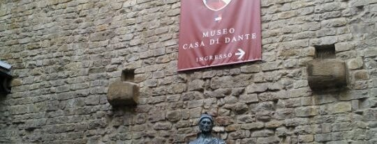Museo Casa di Dante is one of Under the Florence Sun - #4sqcities.