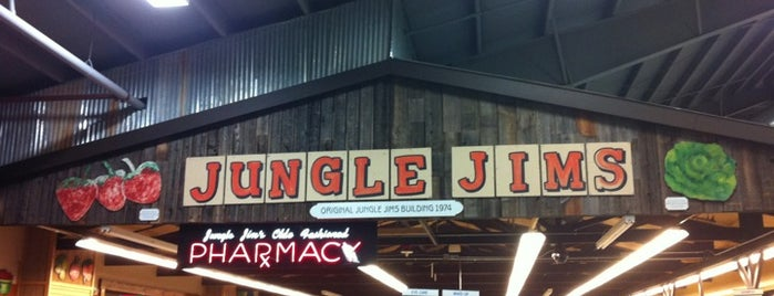 Jungle Jim's International Market is one of Great Ohio Food Destinations!.