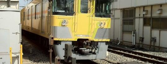 Toritsu-Kasei Station (SS08) is one of 西武新宿線.