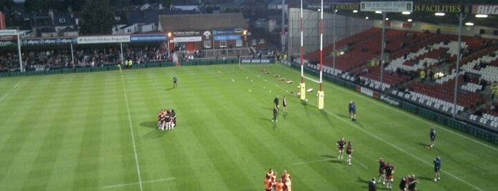 Kingsholm Stadium is one of UK & Ireland Pro Rugby Grounds.