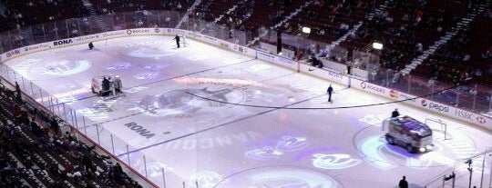 Rogers Arena is one of The best spots in Vancouver, BC! #4sqCities.