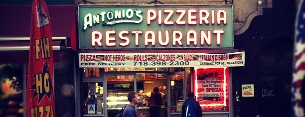 Antonio's Pizzeria is one of Why Prospect Heights is an awesome place to live.