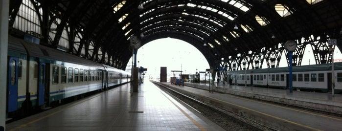 Stazione Milano Centrale is one of Milan City Badge - Milano da bere.