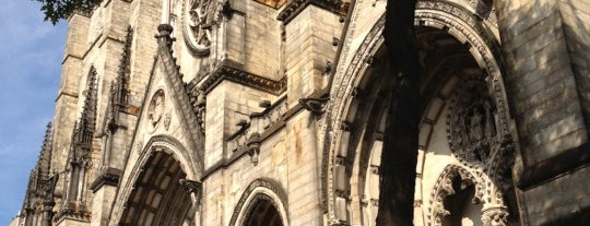 Cathedral Church of St. John the Divine is one of NYC's Upper West Side.