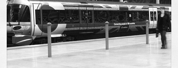 London Paddington Railway Station (PAD) is one of London City Badge - London Calling.