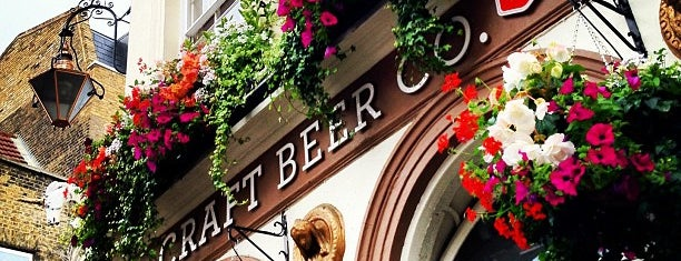 The Craft Beer Co. is one of London Pub-ventures.