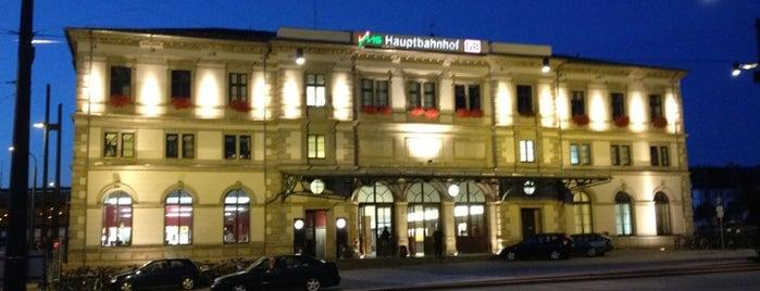 Chemnitz Hauptbahnhof is one of Ausgewählte Bahnhöfe.