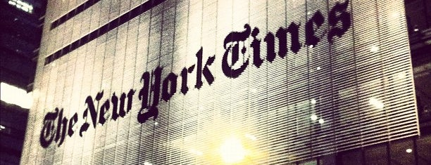 New York Times Building is one of NYC Trip.