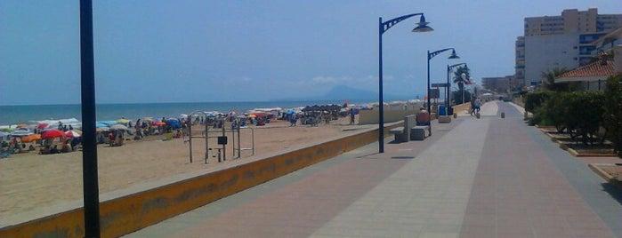 Platja de Bellreguard is one of Municipios de la Provincia de Valencia..