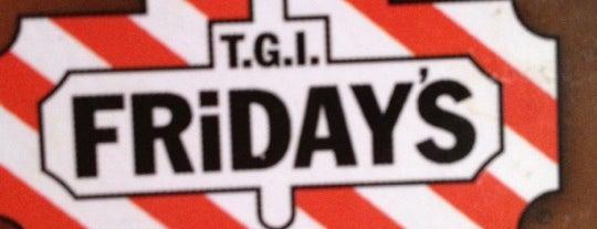 TGI Friday's is one of He estado aqui.
