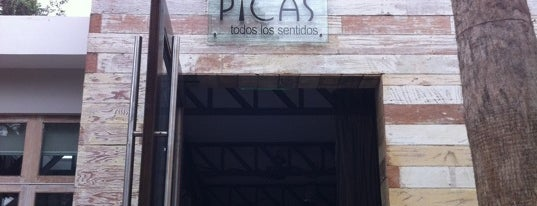 Picas is one of Bares.